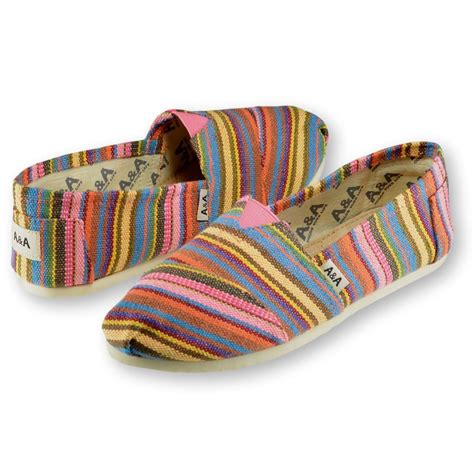 pink patterned espadrilles multicolored canvas slip on shoes for women a a