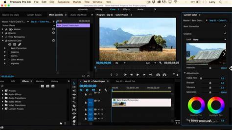 adobe premiere pro lumetri adobe premiere pro cc 2015 new video scopes and lumetri