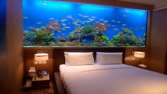 great ideas of fish tank bed for your glamorous bedroom