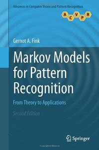 pattern recognition theory and applications markov models for pattern recognition from theory to
