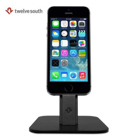 iphone desk stand charger twelve south hirise lightning desktop stand and charger