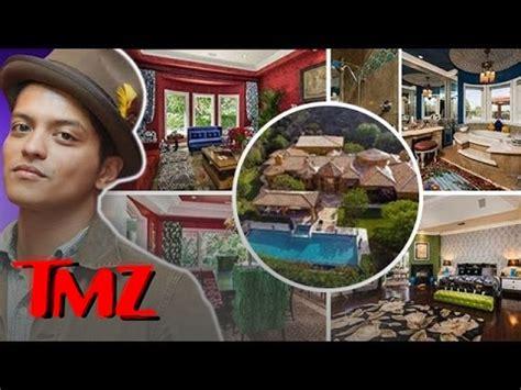 bruno mars house bruno mars check out my new 6 5 million dollar dump tmz youtube