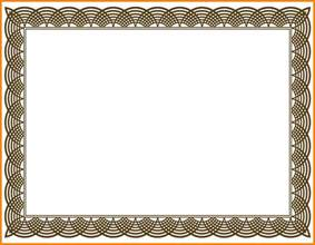Award Certificate Border Template 5 award certificate border designs day care receipts