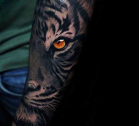 tattoo animal eyes eye of the tiger tattoo for men
