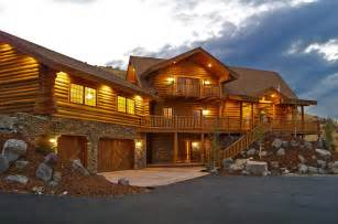 Exteriors interiors construction affordable log homes luxury log homes