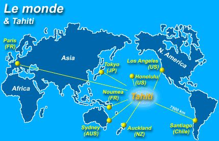 infos sur carte de bora bora arts  voyages
