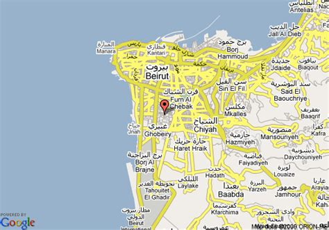 middle east map beirut four points by sheraton le verdun beirut deals see