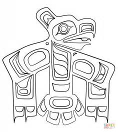 printable haida art haida art raven coloring page free printable coloring