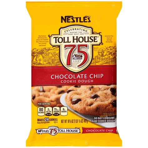 Toll House Chocolate Chip Cookies by Jet Nestle Toll House Chocolate Chip Cookie Dough