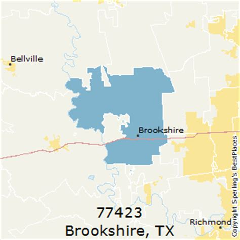 brookshire texas map best places to live in brookshire zip 77423 texas