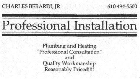 Professional Plumbing And Heating by Professional Installation Plumbing Heating Plumbing 4108 S Ln Aston Pa United