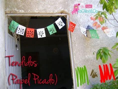como hacer cadenas de papel crepe de tres colores xoolexiitoo tendidos papel picado adorno para fiestas