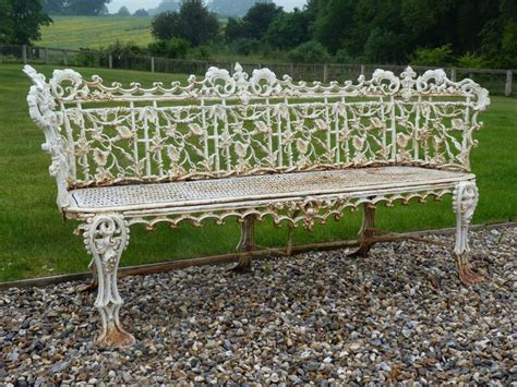 coalbrookdale garden bench pin by sworders fine art auctioneers on country house sale