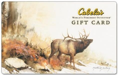 Can I Use A Cabela S Gift Card At Bass Pro - 100 cabelas gift card huntingnet com forums