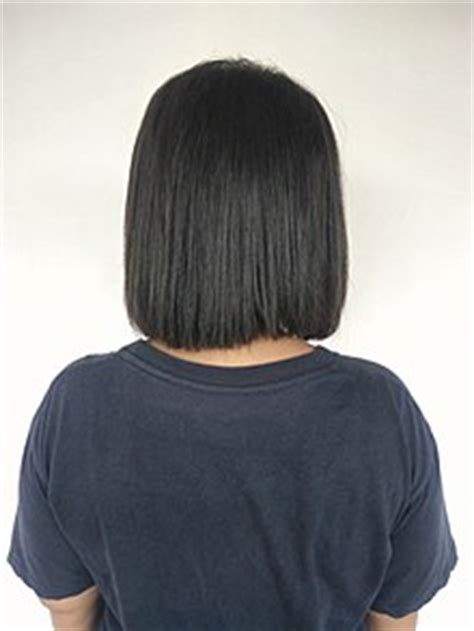 rear view black short haircuts for black women bob cut