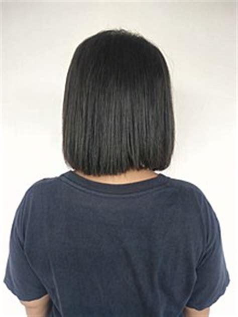 rear view short haircuts women bob cut