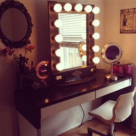 desk with mirror and lights vanity desk with mirror and lights home furniture design
