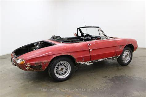 1968 Alfa Romeo by 1968 Alfa Romeo Duetto Spider Beverly Car Club