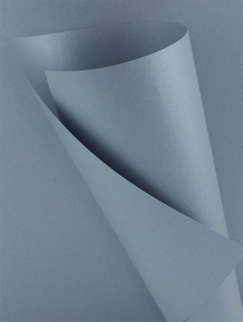 Silver Craft Paper - thick metallic silver grey craft paper wl coller ltd