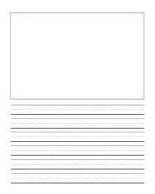 Journal Paper Template by Grade Story Paper Template Blank Writing Paper For
