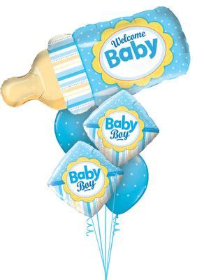 Balon Welcome Baby Boy 22278 welcome baby balloon bouquets tulsa ok