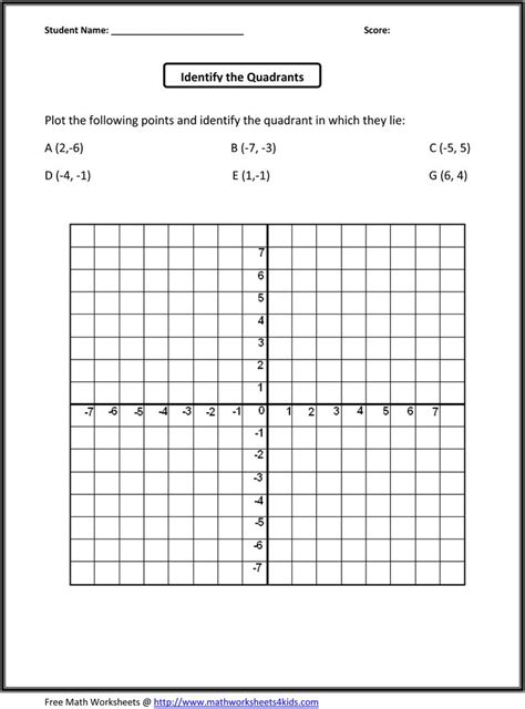 Free 5th Grade Worksheets