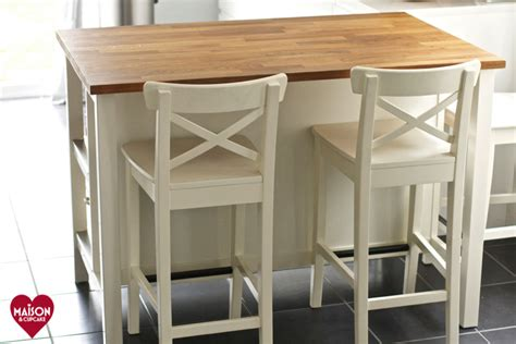Small Kitchen Islands With Stools stenstorp ikea kitchen island review maison cupcake