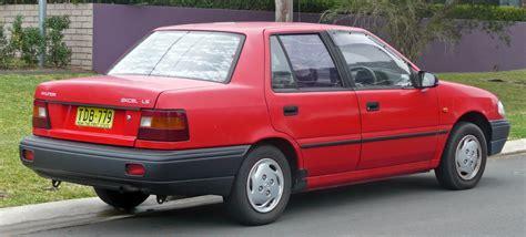 how it works cars 1994 hyundai elantra head up display file 1991 1994 hyundai excel x2 ls sedan 03 jpg wikimedia commons