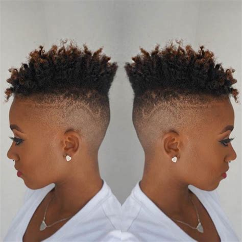 black woman fades 31 best short natural hairstyles for black women page 2