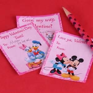 Homemade valentine s day card ideas disney family