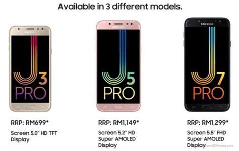 Samsung J7 Pro Vs J5 Pro samsung releases j pro series in malaysia gsmarena news