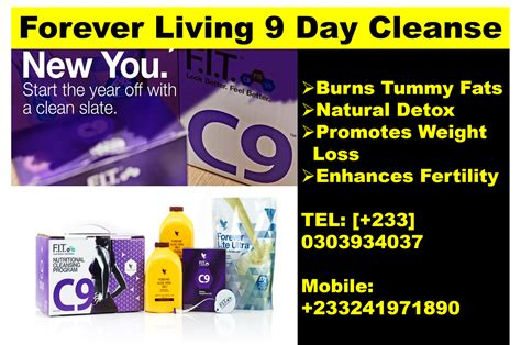 Healthy Living 9 Day Detox by Weight Loss Fertility Sexual Health Forever