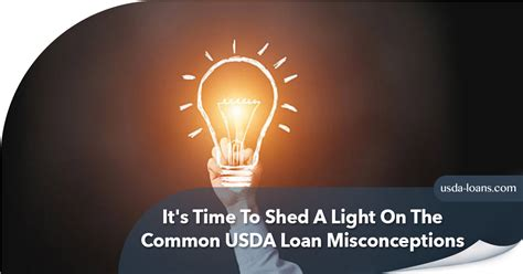 To Shed Light On by It S Time To Shed A Light On The Common Usda Loan