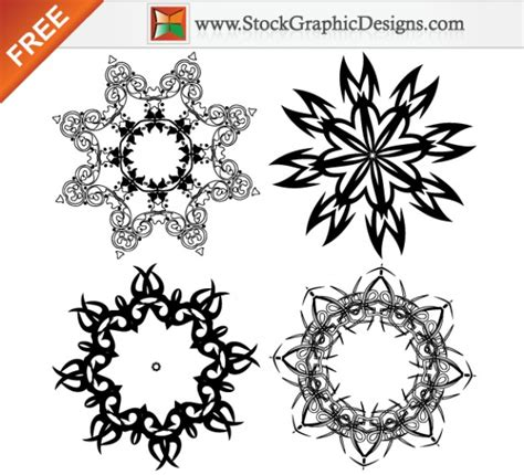 Decorative Design Elements Vector Free | free vector image of decorative design elements vector