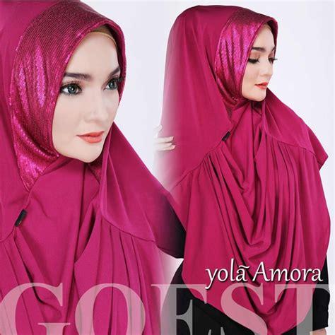 Baju Busana Muslim Gamis Amora Syari Fanta Turkhis Bl jilbab sifon the knownledge
