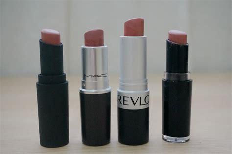 N Megalast Lip Color Velvet lipstick dupe alert mac velvet teddy vs revlon matte in mauve it jello beans