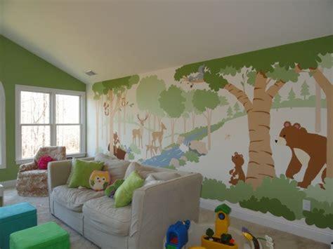 Kinderzimmer Gestalten Natur wandmalerei kinderzimmer 21 ideen wie sie eine ganz