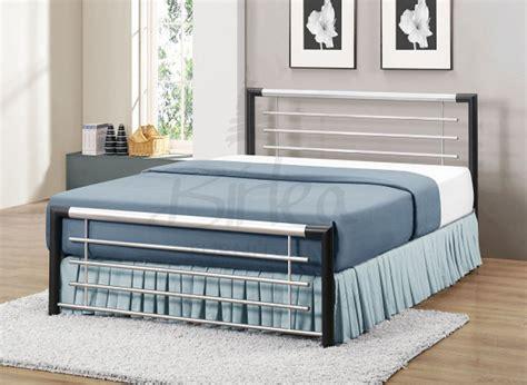 Chunky Metal Bed Frames Birlea Faro 4ft Small Double Silver Metal Bed Frame By Birlea