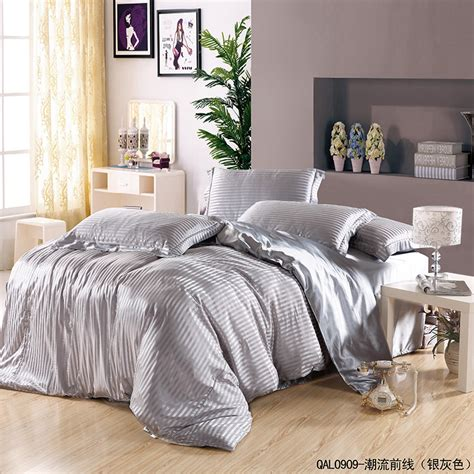 cheap silver bedroom sets get cheap silver duvet cover aliexpress