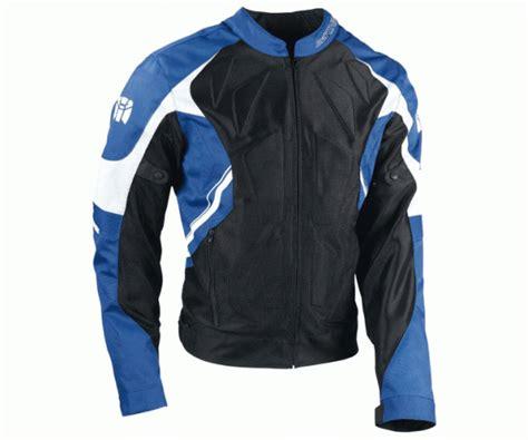 padded motorcycle jacket bering airskin padded motorcycle jacket blue