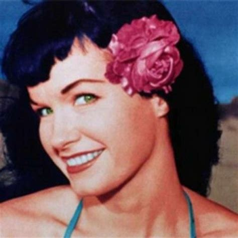 the gallery for gt bettie page color