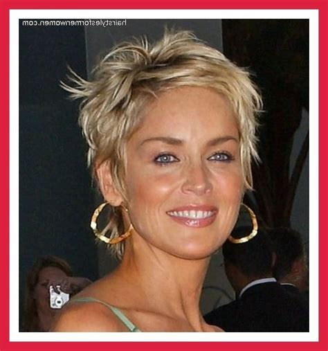 sharon stone haircut 2014 punky pixie short hairstyle 2013