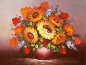 fleurs et nature bouquet dans un vase tableau de