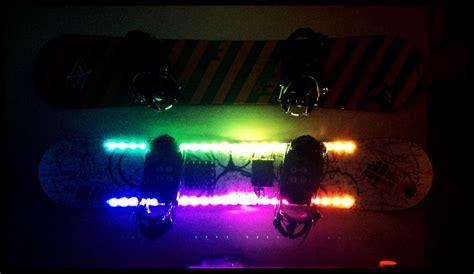 Snowboard Led Lights by Led Snowboard Kit See On Led Lights