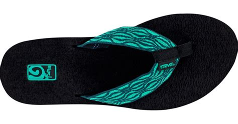 most comfortable flip flops womens teva 174 mush for women most comfortable flip flops at teva