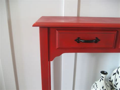 hobby lobby side table impatiently praying for patience red accent or entry table