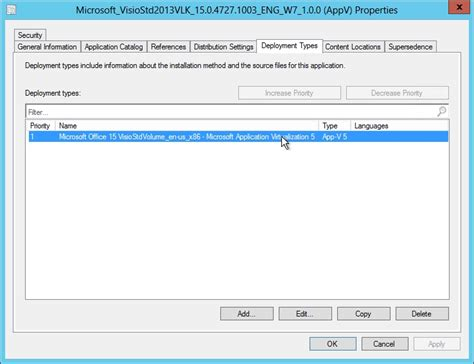 xml to visio click to run and windows installer editions do not get