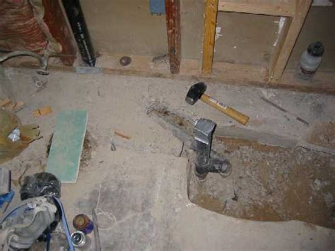 Plumbing A Shower Drain by Plumbing Problems Plumbing Problems Tub Drain