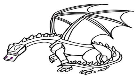 coloring pages of ender dragon best ender dragon coloring page for children