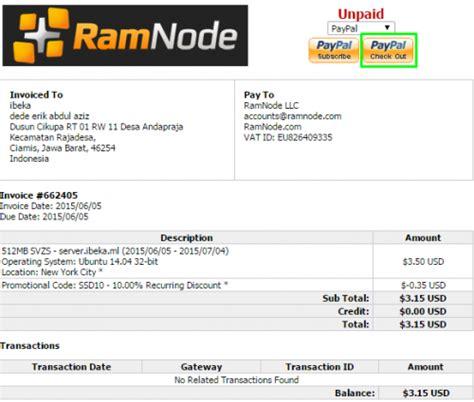 Cara Sewa Vps Linux Murah Terbaik Dari Ramnode | cara sewa vps linux murah terbaik dari ramnode